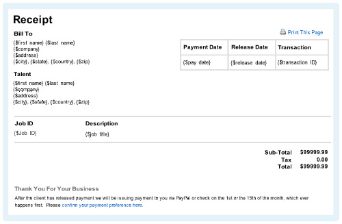 how to make a receipt online Hallo – A Receipt of Payment