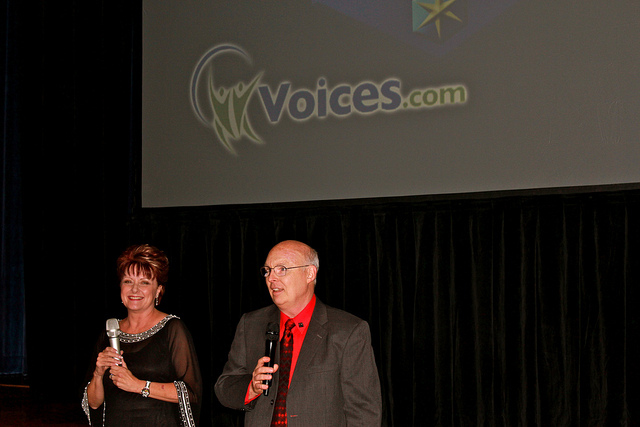 Penny and Jim at VOICE 2012 Red Carpet