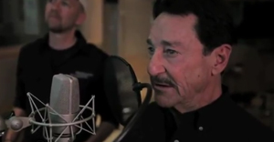 Peter Cullen recording his lines for Optimus Prime, Transformers: Fall of Cyberton video game