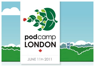 PodCamp London 2011 Logo