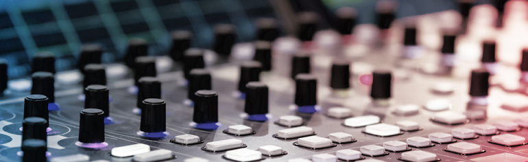 '3 Common (Yet Avoidable) Audio Editing Oversights' - Voices.com #1 Voice Over Marketplace for Voice Talent. Audio recording engineering mixing board.