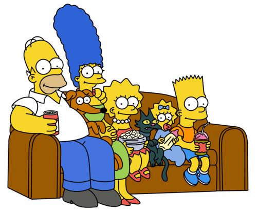 The Simpsons (1989– )  Simpsons_couch