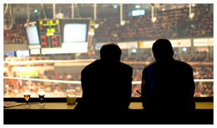 Sports announcers