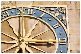 St. Marys Church, Cambridge clock face