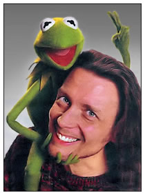 Steve Whitmire with Kermit