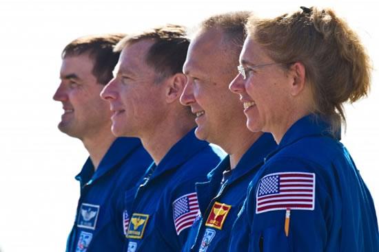 STS-135 Atlantis Crew