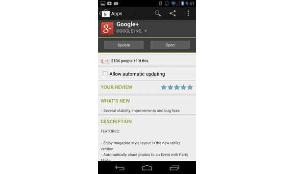 Successful Android app review