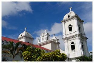 The church of Naranjo, Costa Rica
