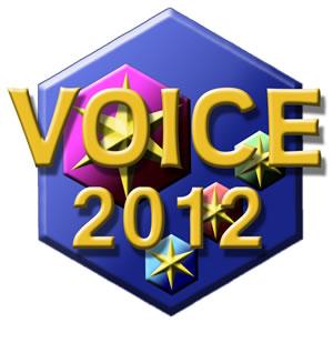VOICE 2012 logo