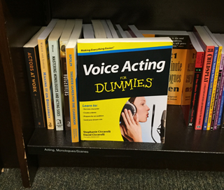 Voice Acting For Dummies book at Barnes & Noble