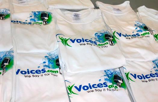 Voices.com t-shirts