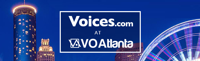 Voices.com at VO Atlanta 2016 - Atlanta Skyline