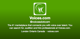 Voices.com on Twitter - green