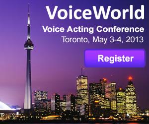 VoiceWorld Toronto 2013
