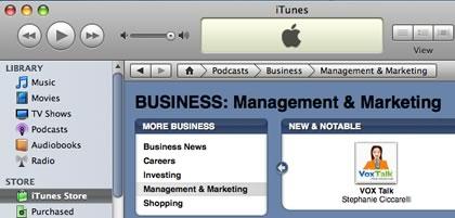 VOX Talk in iTunes