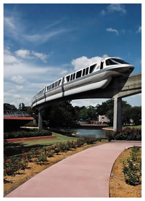 Walt Disney World Monorail at Epcot