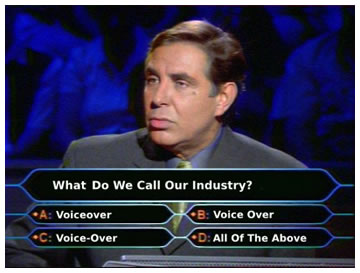 Who Wants to be a Millionaire Voice Over
