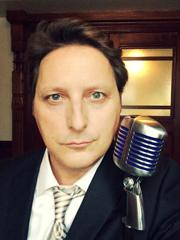 David Tyler, teacher and voice talent, 2015