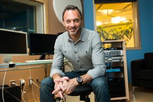 David Goldberg in studio