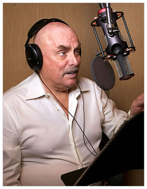 Photo of Don LaFontaine in 2007, Damian Dovarganes/Associated Press
