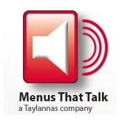 Menus That Talk