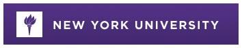 New York University Banner