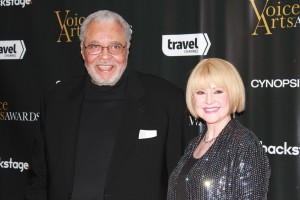 James Earl Jones and his wife Cecilia Hart (Photo: Stephanie Ciccarelli)