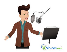 Voice acting auditions