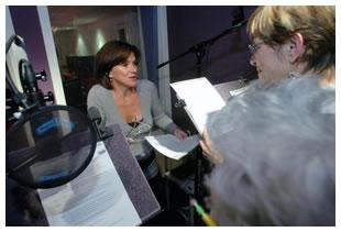 Voicetrax class with Samantha Paris