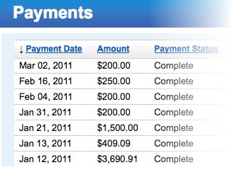 Get Paid by PayPal or Check