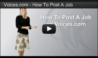 How To Post A Voice-Over Job