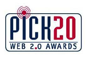 Pick 20 Web 2.0 Awards