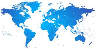 Voices.com Marketplace Map