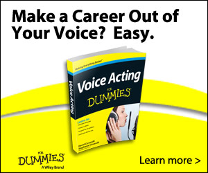 Buy Voice Acting For Dummies